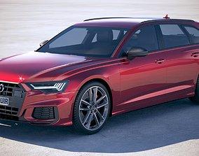Audi S6 Avant 2020 3D