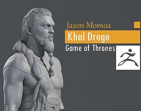 3D print model Jason Momoa - Khal Drogo - Game of Thrones