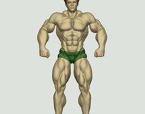 Body Builder Statue N 5 3D print 3D model