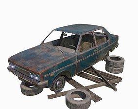3D Abandoned Car 16