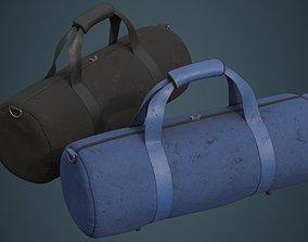 3D asset Gym Bag 1D