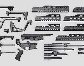 3D asset Sig Sauer MCX Virtus Assault Rifle