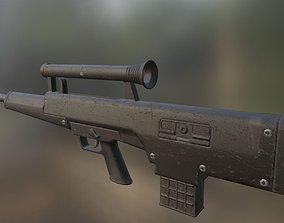 HK CAWS Low-Poly PBR 3D model