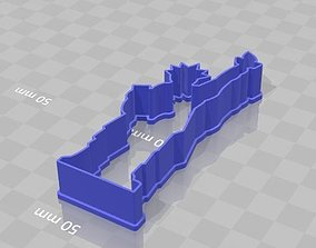 Statue of Liberty Cookie Cutter 3D printable model