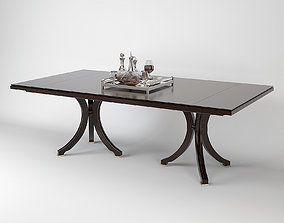 Baker Vienna Dining Table model 3D