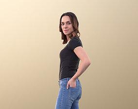 Juliette 10798 - Casual Woman Standing 3D model