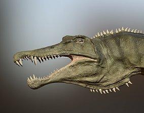 3D model animated Spinosaurus