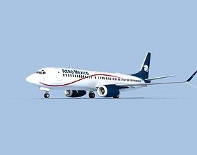 3D model Boeing 737-800 Max Aero Mexico