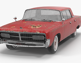3D Chrysler Imperial rusty