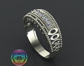 3D printable model jewelry diamond ring printable