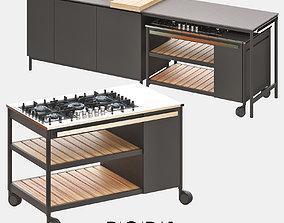 3D model NORMA Outdoor Kitchen