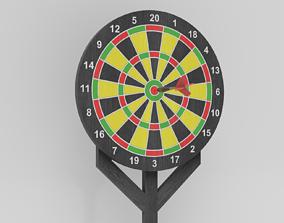 3D model Darts Game Set