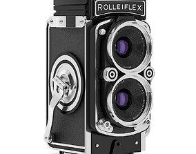 Antique Photo Camera 3D model