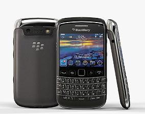 3D model BlackBerry Bold 9790 Black