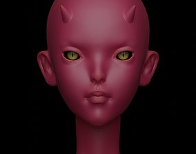 Editional Imp head for Aurora fashion BJD doll for 3d