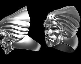 3D print model Modern ART DECO Native Chief Ring