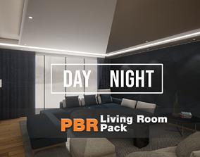 3D asset Living Room Pack