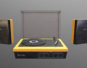 3D model Vintage Gramophone