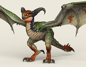 Wild Dragon 3D model