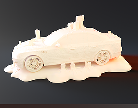 3D printable model Candle Car