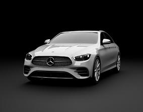 Mercedes-Benz E-Class 2021 Sedan In Official 3D model 1