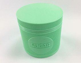 Sugar Jar - Sugar Pot - Sugar Can 3D print model