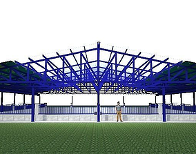 Warehouse roof 3D