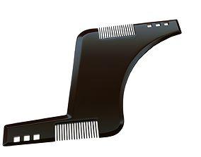 Comb for beard 3D