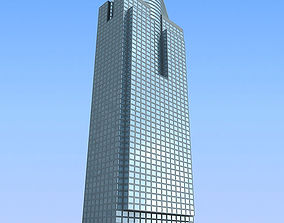 3D model Office Glass Building 85