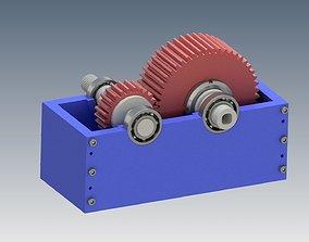 3D printable model Gear Box