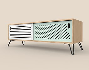 3D model Pointillee Media Unit Small Size
