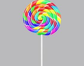 3D Lollipop Candy