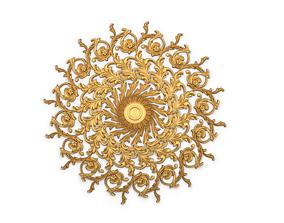 3D printable model Round rosette 01