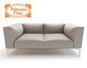 Leather Sofa Poltrona Frau 3D