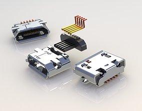 Micro USB 3D