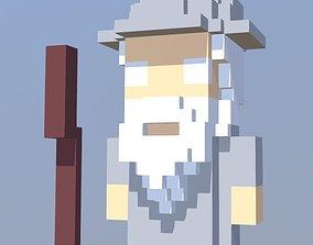 3D asset Gandaulf