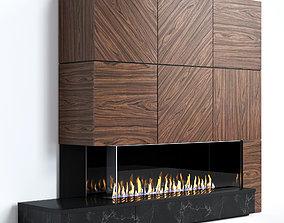 Fireplace modern 13 3D model