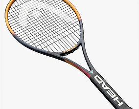 3D asset Tennis Racket Head IG Challenge