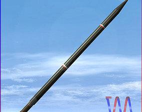 3D model Arash Rocket