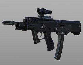 3D model VR / AR ready T-5 SMG