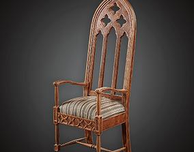 3D asset Chair - MVL - PBR Game Ready