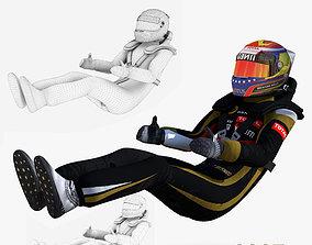 Pastor Maldonado 2015 3D asset