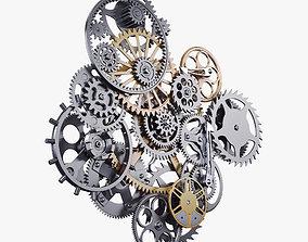3D Gear Mechanism v 9