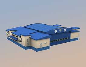 3D model WBKK Police station Kota Kinabalu