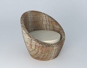 chair COCOON houses the world 3D model