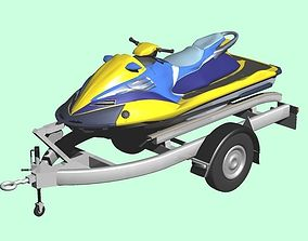 3D Personal Watercraft 2Seater JetSki