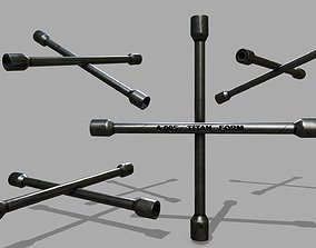 3D model Lug Wrenc