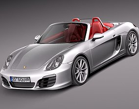 Porsche Boxster S 2013 3D