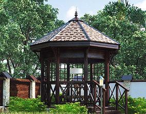 3D model Pavilion