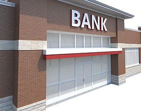 Bank Building-02 3D